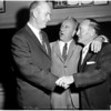 Baseball -- Officials get together, 1958