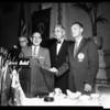Lions Club luncheon, 1958.