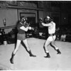Boxing - Pajarito Moreno in workout, 1958