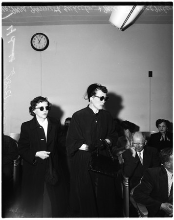 Chad Nelson inquest (went beserk -- ran in front of auto), 1958