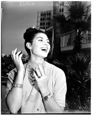 Miss Universe contestants, 1958