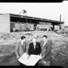 Cerritos College near Norwalk, 1957.
