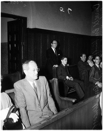 Barnett Briskin trial, 1958