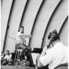 Hollywood Bowl rehearsals at Philharmonic, 1959
