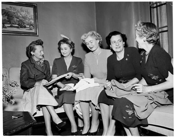 League for crippled children, 1953