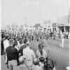Hawthorne Parade on Veterans Day, 1961