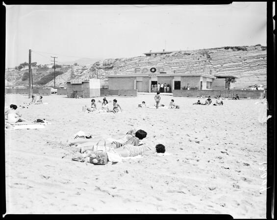 Zuma Beach, Long Beach Golf Course and L.os Angeles Marina (Dominguez Dump), 1961