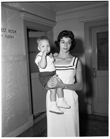 Paternity suit, 1956
