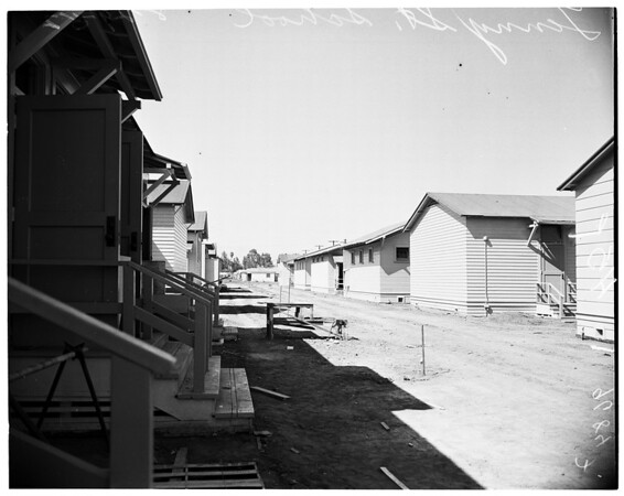 New schools in San Fernando Valley, 1952