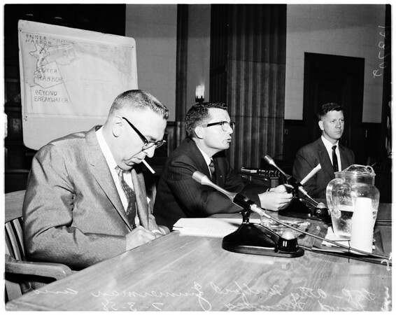 Oil hearing, 1958