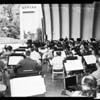 Hollywood Bowl rehearsal, 1958