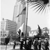 Flag day at Hall of Justice, 1958