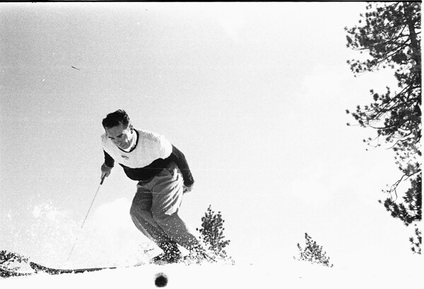 Skiing -- Snow Valley, 1958
