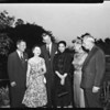 Buffet supper honoring Consular Corps, 1958