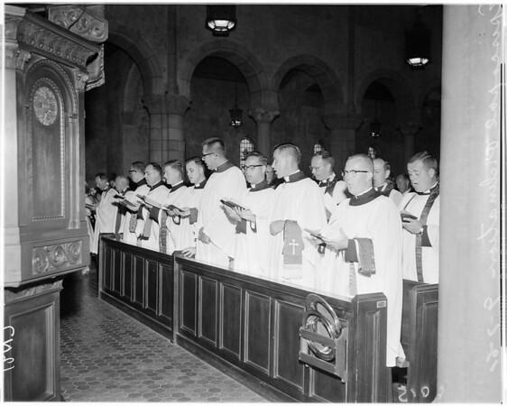 Episcopal church ordination of deacons, 1961
