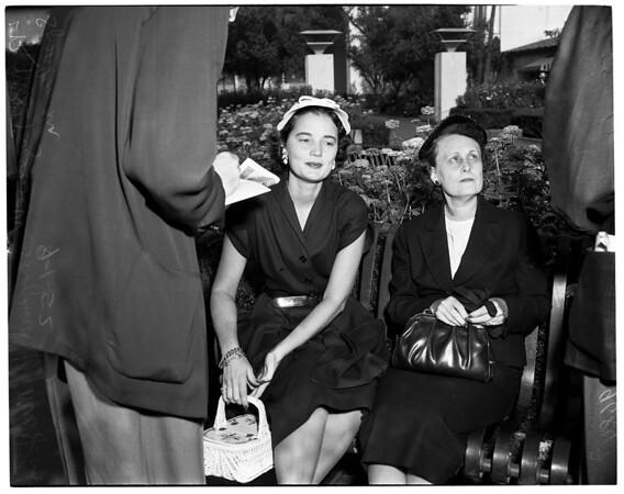 Democratic women, 1952
