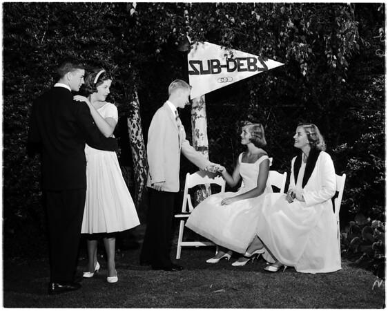 Sub Debs, 1958