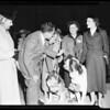 Nixon arrival, 1956