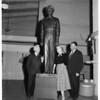 MacArthur statue unveiling, 1952