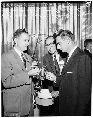 Dental convention at USC (Beverly Hilton), 1957