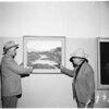 Art exhibit at Greek Theatre, 1952
