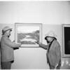Art exhibit at Greek Theatre, 1952