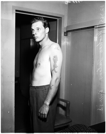 Kidnaping case (suspect), 1958