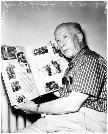 Southern California newsreel man, 1958