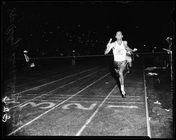 Track -- Coliseum relays, 1958