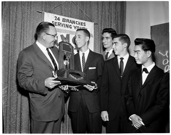 Hi-Y Boy of the Year, 1960
