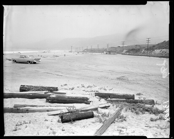 Zuma Beach, Long Beach Golf Course and L.os Angeles Marina (Dominguez Dump), 1961