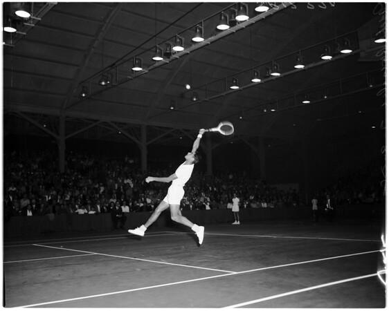 Tennis -- Pan Pacific, 1958