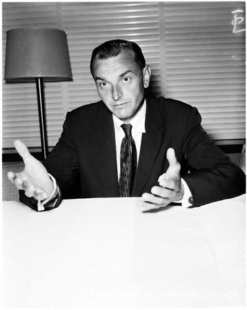 Alaskan governor, 1958