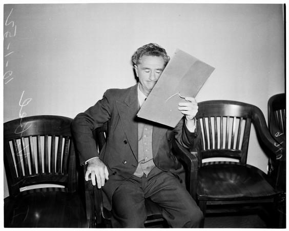 Gold hoard inquiry before Grand Jury, 1952