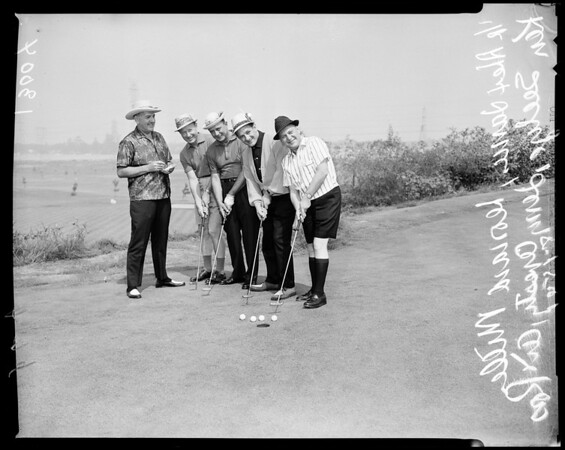 Apparel Club golf tournament, 1961