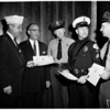 Military Order of Purple Heart Awards (officers wounded in line of duty), 1955