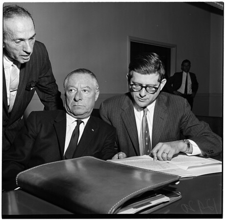 Bankruptcy hearing (Beverly Hills Investment Corporation), 1961