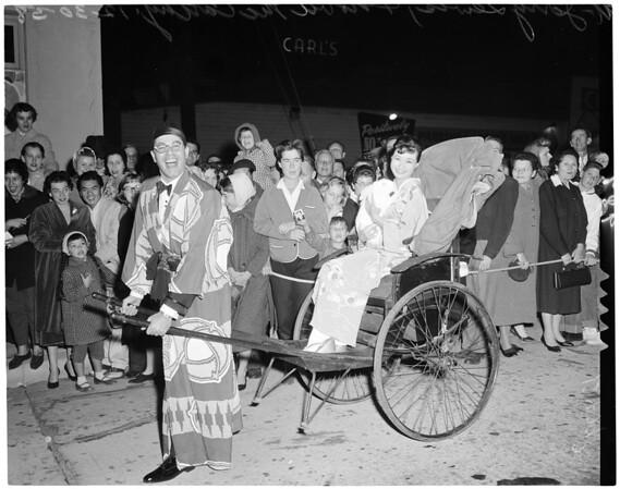 """The Geisha Boy"" premiere, 1958"