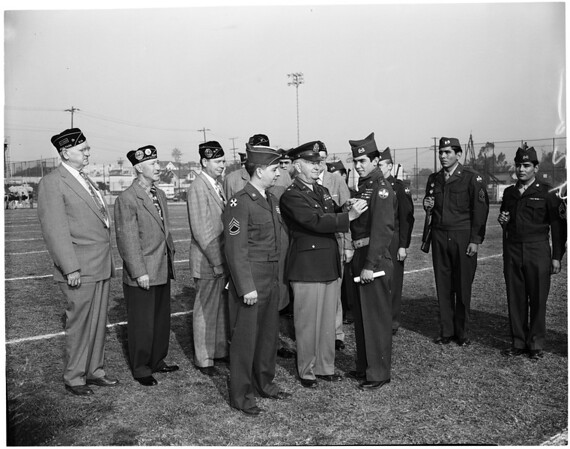 Belmont Reserve Officers' Training Corps Awards, 1955