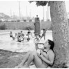 Hot weather picture -- Echo Park, 1952