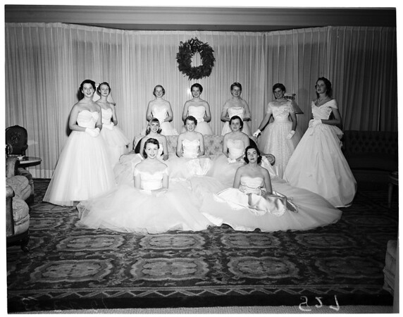 Valley Hunt Club Ball, 1953