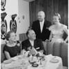 Mr. & Mrs. Howard Christianson, 1958