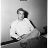 Gangster suspect, 1952