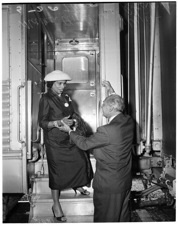 Arrival at Union Station, 1956