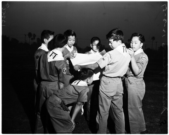 Nisei Boy Scouts feature: Roy Sunada, 1957
