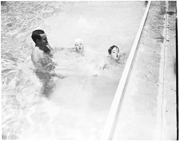 Poynton Swim (Aquatic Club school instructor), 1957