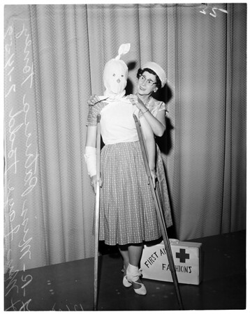 First Aid Fashion Show, 1959