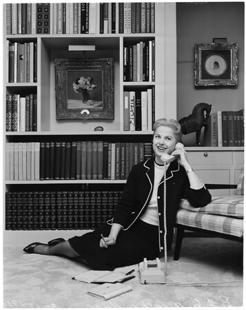 Martha Hyer -- Pictorial living, actress, 1959