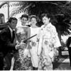 Universe girls at Universal Studios, 1958