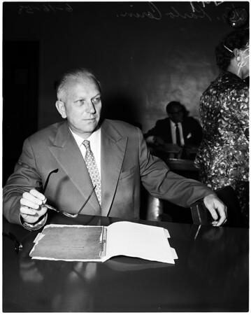Artukovic hearing, 1958